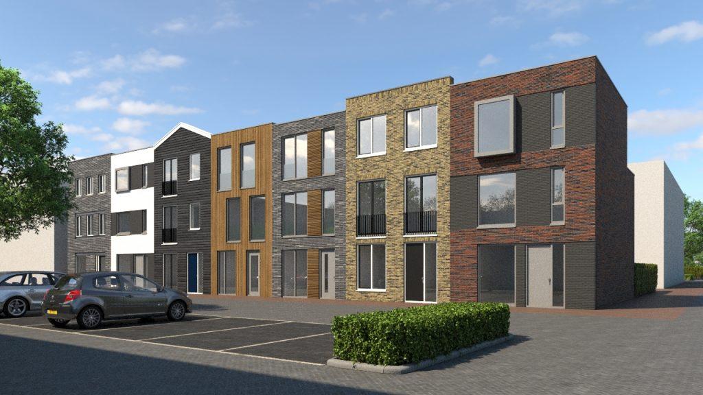 Straatbeeld betaalbaar huis bouwen